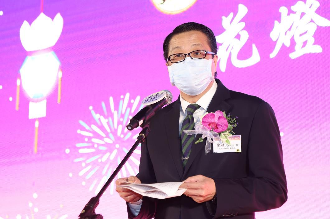 民政事務局副局長陳積志先生, JP致辭。